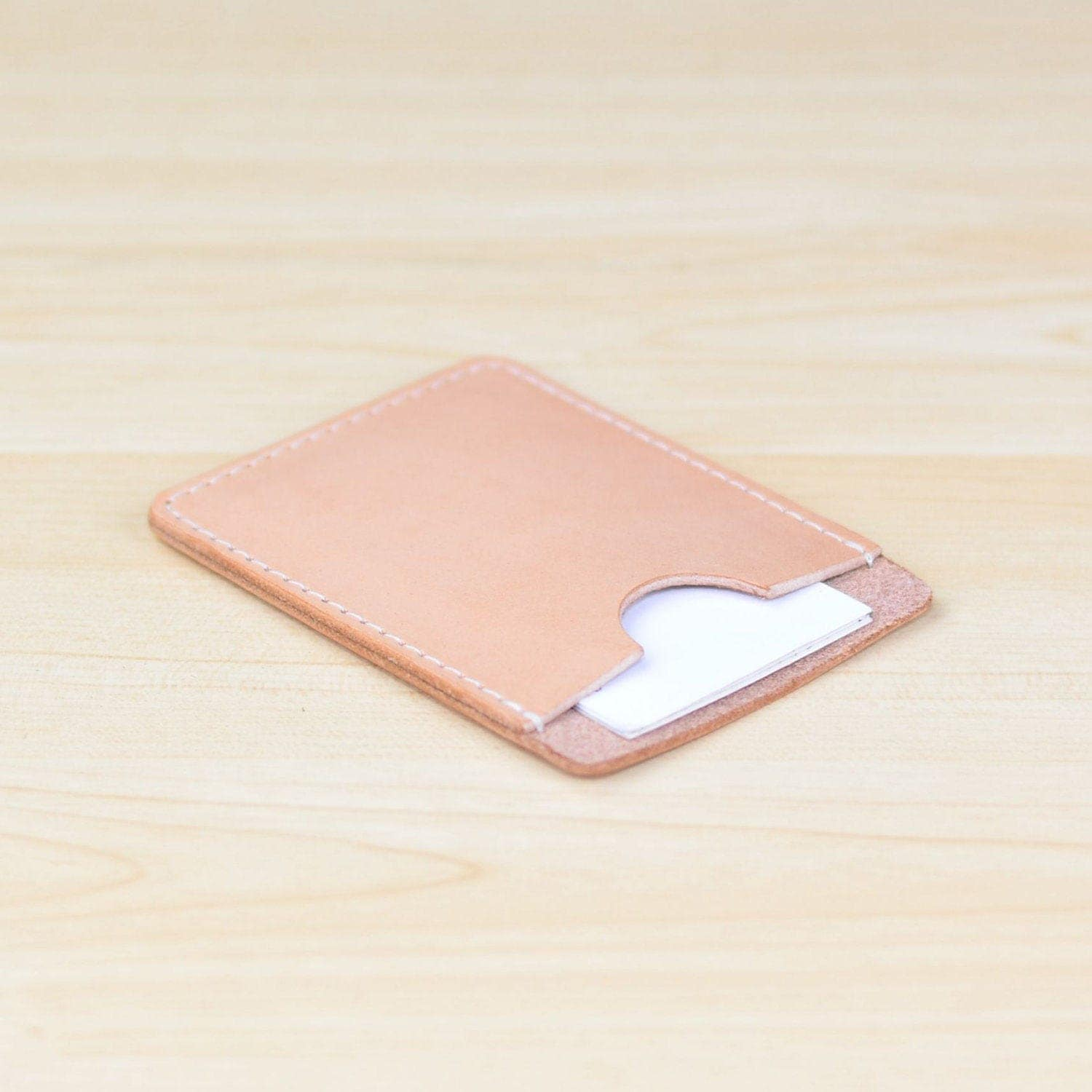 leather business card holder personalized leather business card