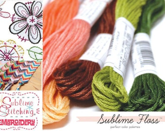 Sublime Stitching Embroidery Floss Pack - 7 Skeins - CHOOSE PACK - Cross Stitch Friendship bracelets Jewellery thread cord