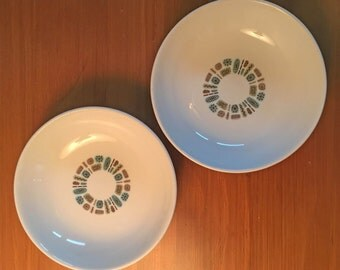 Canonsburg Temporama Sauce Dishes - Set of 2