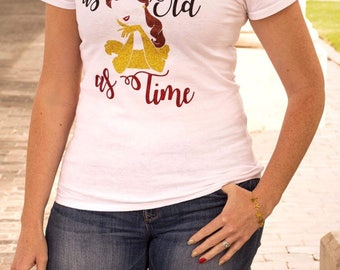 A tale as old as time beauty and the beast shirt disney belle