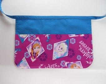 Little Girl's Frozen Play Apron / Craft Apron