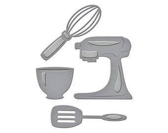 Spellbinders D-Lites Cutting Dies WHAT'S Cookin' cooking utensils S2-206 1.cc52