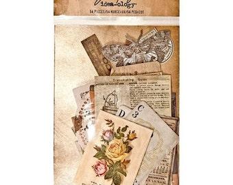 Tim Holtz Idea-ology EPHEMERA Pack THRIFT SHOP paper embellishments cc1x