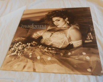 Madonna Like A Virgin vinyl record