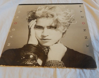 Madonna (The First Record) vinyl record