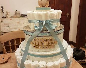 Baby Shower Nappy Cake *~