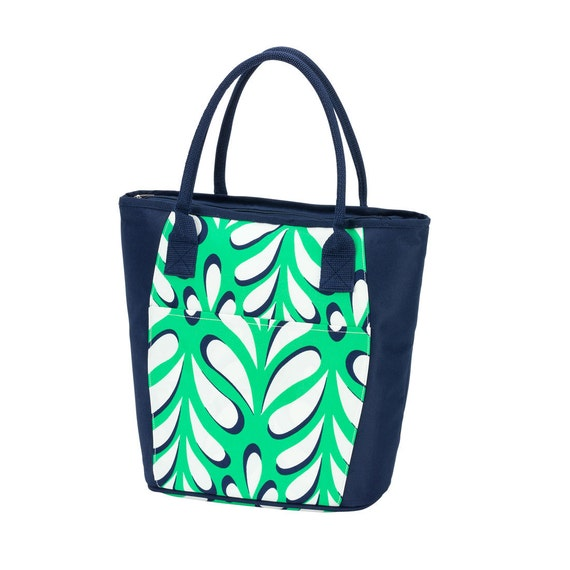 Island Palm cooler Ultimate tote bag navy blue oversized bag monogrammed tote bag beach bag pool bag summer bag monogrammed gift