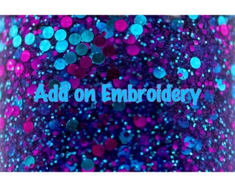 Add on Embroidery