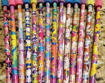 Vintage Lisa Frank Stamp Roller Pencils *you choose*