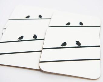 Starling Bird NYC Coasters