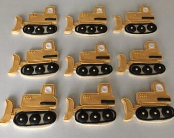 Bull Dozer Sugar Cookies