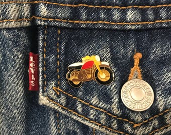 Vintags Motorcycle/Biker Lapel Pin