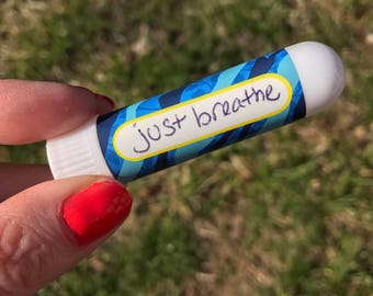 Just Breathe - Aromatherapy Inhaler for Allergy Season