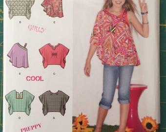 Somolicity 1674 pattern, girl top pattern, lil fiva style, girly girl pattern.
