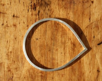 Heavy Recycled Sterling Silver Bangle