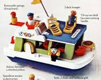 Fisher-Price Houseboat
