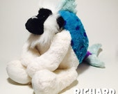Handstitched and Re-imagined Plush Animal Mix, FrankenStuffs Vibrating Richard