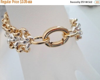 BUY NOW:  1 Gold Self Closing Hinged Clasps with Oval Jumprings