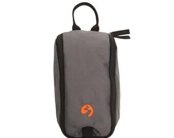 Toiletries Bag - Small | Travel Bag, Dopp Bag, Bath Bag, Makeup Bag, Shave Bag, Wet Bag, Wash Bag, Water Resistant Bag - HEAVY DUTY