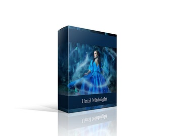 Until Midnight PSD and PNG Overlays