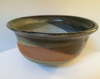 Modern Studio Pottery Bowl Signed