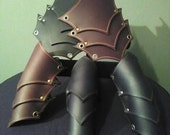 Triple Layer Leather Gauntlet