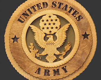 United States Army plaque 12 inch