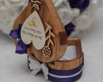 Ringbearer personalised heart box