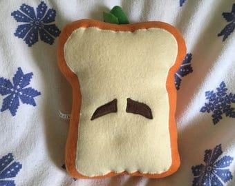 PRICE LOWERED! - Mr. Pumpernickel pumpkin bread plush toy
