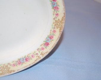 Vintage, Antique Platter, Small Serving Platter, Plate, Porcelain Plate