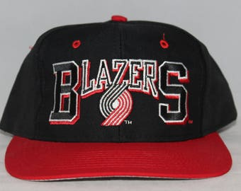 Vintage Portland Trailblazers NBA Snapback Hat