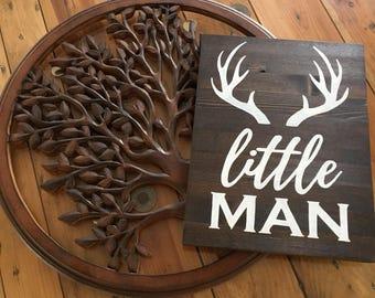 Little Man Nursery Sign