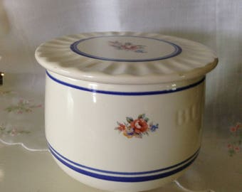 Sweet Vintage French Butter Keeper