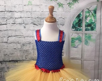 Snow white tutu, Snow White dress, Snow White tutu dress, Snow White costume, Snow White Birthday dress, princess tutu, princess tutu dress
