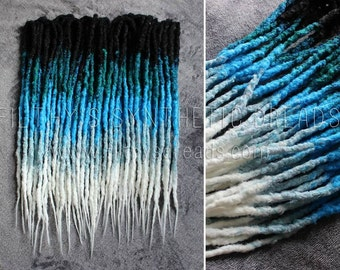 5 COLOUR | Full kit of CUSTOM long natural synthetic dreads | dread extensions