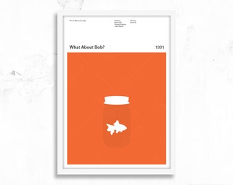 What About Bob - Gill - Movie Poster Print - Bill Murray