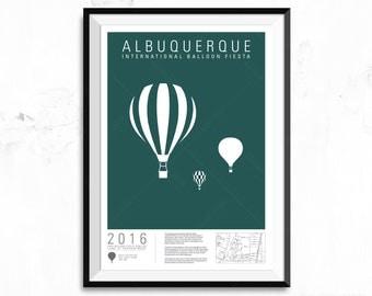 Albuquerque International Balloon Fiesta - The Lone Three
