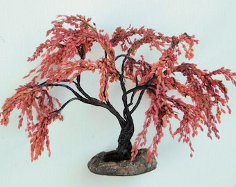 Colorful Weeping Tree 7.5 inches tall