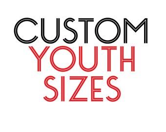 YOUTH Size  - Custom Black T-Shirt