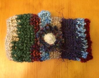 Twiddle Muff / Sensory Muff - Cozy Colors