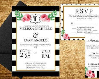Stripes and Polka Dots Wedding Suite