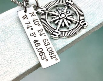 Coordinates of Love Pendant Necklace