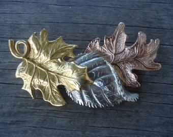 Avon Tones of Autumn Leaf Brooch