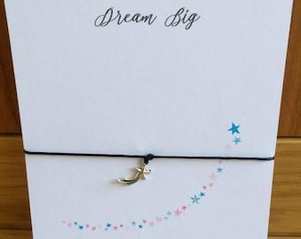 Wish String Bracelet Friendship Bracelet Gift Shooting Star Charm