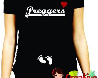 funny MATERNITY SHIRT, mom to be, announcement shirt , pregger cm314