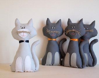 Rag doll, stuffed animals: Kitten