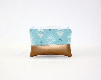 Mini bag - copper ethno
