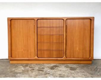 Vintage Teak Dresser / Credenza / Console