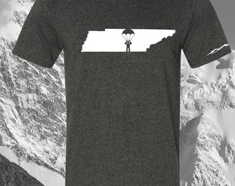 Tennessee Sky Diver Shirt ANY STATE AVAILABLE