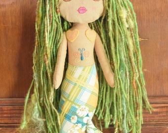 Mermaid Art Doll